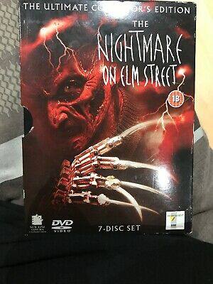 The Nightmare On Elm Street Collection DVD, 2004, 7-Disc Set, Box Set)