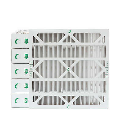 24x24x4 MERV 10 AC Air Filters. 6 PACK.  Actual Size: 23-3/8 x 23-3/8 x 3-3/4
