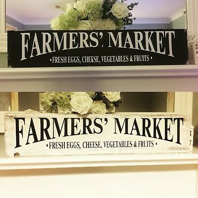 100cm Farmhouse Market  Kitchen Wooden Sign Rustic Wedding Home Decor