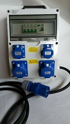 32Amp Distribution board,power box, Hook Up, stage, event distro, 240V splitter