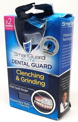 SMART GUARD ELITE DENTAL GUARD - 2 Guards + Cleaning Case -