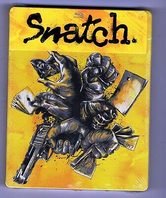 Snatch (Blu-ray Disc, Steelbook) Brand New
