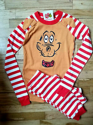4a862b927f NWT Hanna Andersson Dr Seuss Pajamas Size 160 (US14) GRINCH HOLIDAY MAX the  DOG