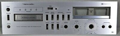 Faceplate Only For Realistic Tr-803 Cartridge Tape Recorder Player
