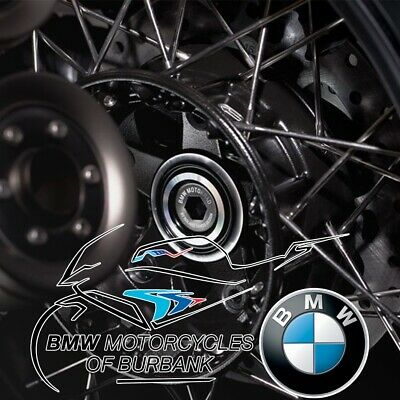 R nineT (K21) Machined Rear Axle Cover Genuine BMW Motorrad Motorcycle