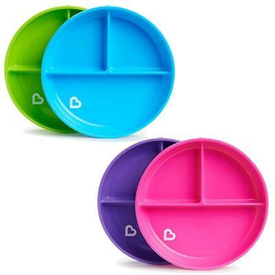 Munchkin Stay Put  Divider Suction Plate Purple, Pink, Blue or Green