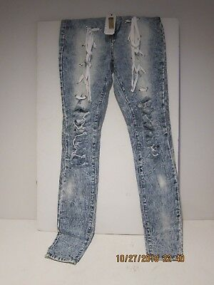 4b88499730c ELITE PROTEGEE-Aphrodite THIGH TIE JEANS Women s Size 3-NEW W TAGS FRE