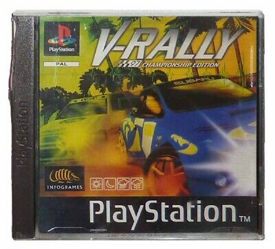 V-RALLY: CHAMPIONSHIP EDITION (PS1 Game) Playstation C