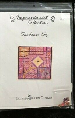 Laura J. Perin Designs Impressionist Collection Charted Needlepoint/Fandango Sky