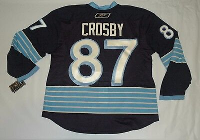 competitive price 786d3 b442a CROSBY WINTER CLASSIC Pittsburgh Penguins Jersey Authentic Reebok Edge 2.0  54
