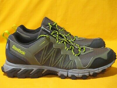 02bf650cc95a70 Reebok DMX Ride TrailGrip RS 4.0 Men s Sz 12 Trail Running Shoes Olive  Green Gry