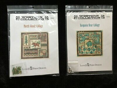 Laura J. Perin Designs Western Collection Two Charted Needlepoint Designs