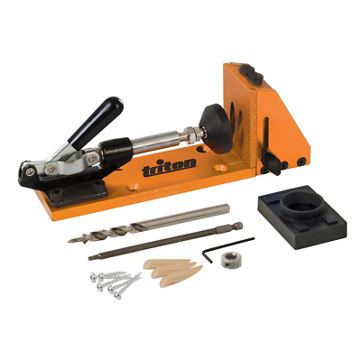 Triton TW7PHJ Clamping Pocket-Hole Joining Jig Kit