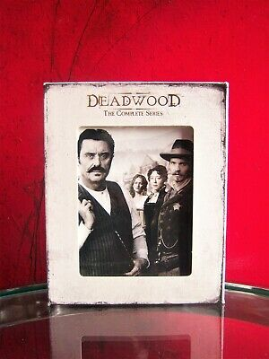 Deadwood - The Complete Series (DVD, 2013, 19-Disc Set) used perfect condition