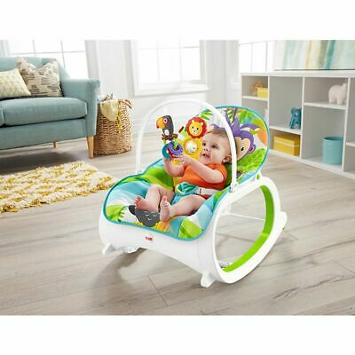 New Fisher Price Infant To Toddler Rocker Dtg96 Forest Print
