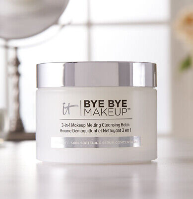 IT Cosmetic Bye Bye Makeup 3in1 Makeup Remover Melting Balm Anti Aging Skin 80g