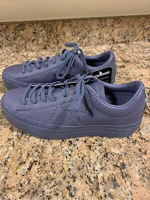 ba9a0c9c8e12 Converse One Star Platform Ox Shoes Size 10 Womens Sneakers Embossed Gray