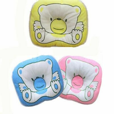 Newborn Infant Anti Roll Pillow Flat Head Neck Prevent Infant Support Baby Gifts