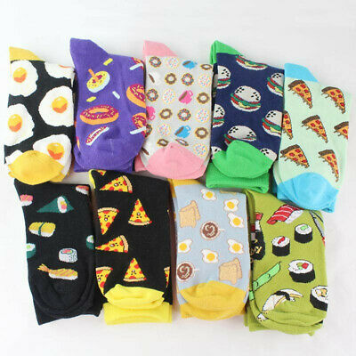 Comfortable Lovely Soft Cute Food Pattern Cotton Women Girl Autumn Winter Socks