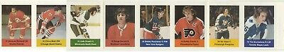 (11)1974-75 Loblaws NHL ACTION Players Panels: You Pick, Choose From(11)P2+BONUS