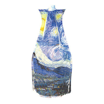 Modgy Plastic Expandable Vases - Starry Night Design - BPA-Free Home, Event