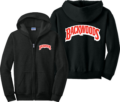 c3a9ae00fc5 Backwoods Zip Up Hoodie Back Woods Cigarrillos Khalifa 420 Zipper Sweatshirt