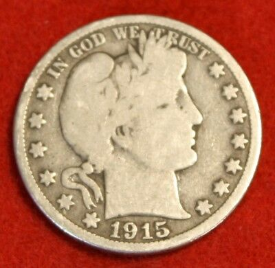 1915-S 50C Barber Half Dollar G Beautiful Coin Check Out Store Bh458