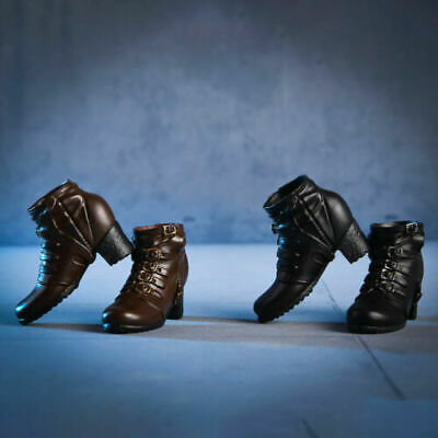 1/6 Scale Accessories vstoys 18X02 Long Short Combat Leather Boots/Shoes Dual
