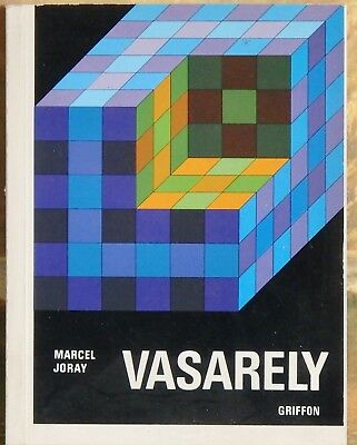 Victor Vasarely, 128 Pages of Unique Art, Printed 1976 in Switzerland.