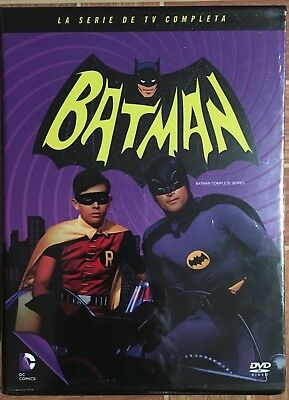 Batman - La Serie TV Completa (1966-1968) DVD (18 DISCS) - NEW