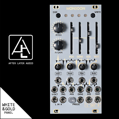 Monsoon (Expanded uBurst) - Mutable Instruments Micro Clouds - Eurorack Module