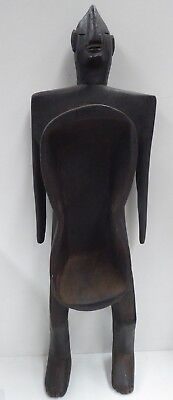 Antique African Carved Timber Fertility Spirit Figure Statue Idol