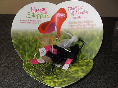 Clean Heels  Clear   Stopper  Small New