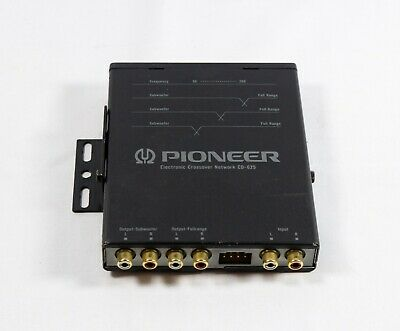 PIONEER Car Stereo Electronic Crossover Network CD-625 Made in Japan