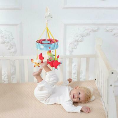 Baby Sleeping Mobile Crib Music Box Bed Bell Toy Hanging/Rotating Music Toys AU