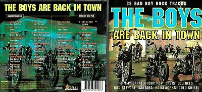 The Boys Are Back In Town 2cd (35 tracks)- Cold Chisel,Noiseworks,Boston,Dragon