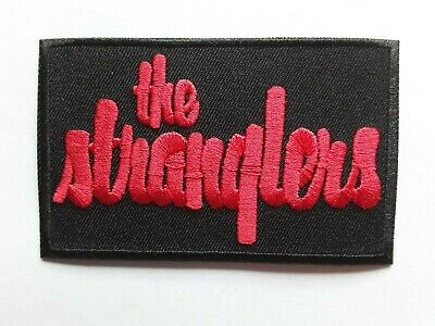 The Stranglers British Heavy Punk Rock Music Band Embroidered Patch Uk Seller