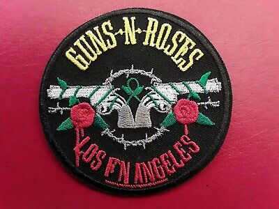 Guns N Roses  American Heavy Metal Rock Music Band Embroidered Patch Uk Seller