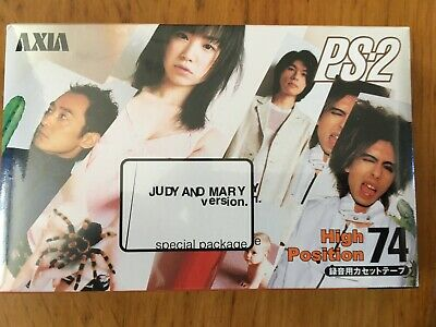 Axia Ps-2 74 Judy And Mary Version Factory Sealed Audio Cassette Japan