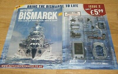 Hachette Build the Battleship Bismarck Scale 1:200 Part 2