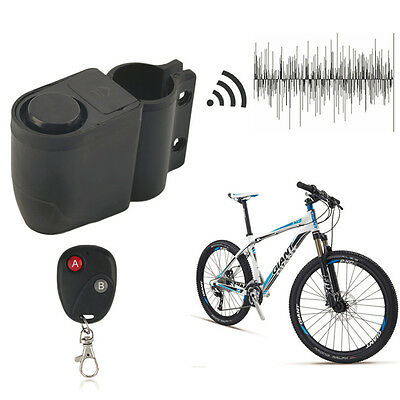 Security Bicycle Motorbike Cycling Bike Alarm Anti-theft Lock Loud Sound TY Fahrradzubehör