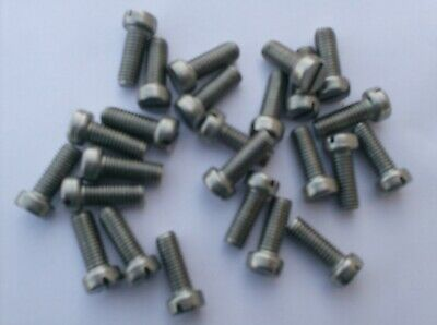 """passivated qty 20 3//16 BSF X ⅝/"""" Round head slotted BOLT"""
