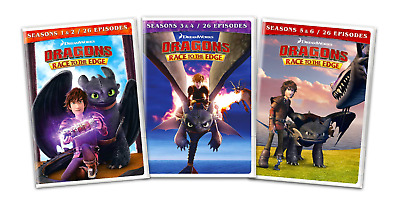 Dragons: Race To The Edge: The Complete Seasons 1-6 (DVD, 12-Disc Set) Brand New