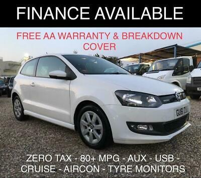 2011 Volkswagen Polo 1.2 TDI BlueMotion Tech 3dr