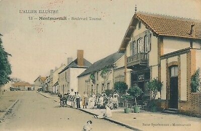 CPA - France - (03) Allier - Montmarault - Boulevard Tourret