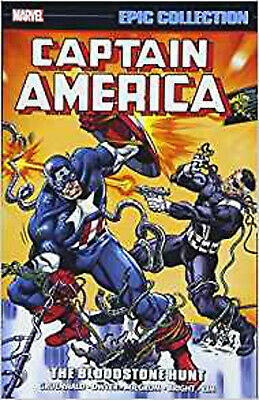 Captain America Epic Collection: The Bloodstone Hunt (Epic Collection: Captain A