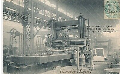 CPA - France - (03) Allier - Montlucon - Usine Saint-Jacques - finissage