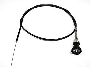 "Classic Car Universal Choke Cable Pull Twist & Lock 60"" Mg Austin Kit Car 8A3"