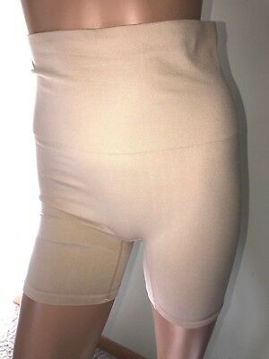28f9160ed6 LIFE JOCKEY Solid Beige Nylon Blend Shapewear Briefs Sz L