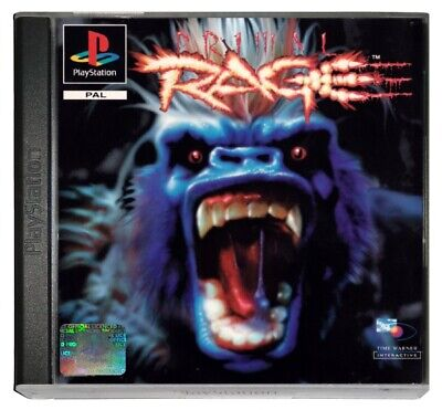 PRIMAL RAGE (PS1 Game) Playstation A